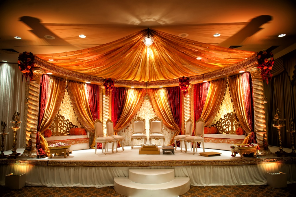Indian Wedding Ceremony Arch 2