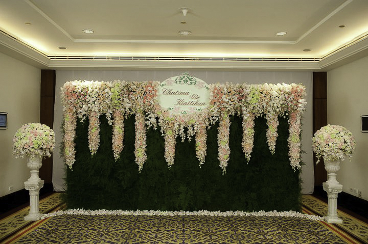 Flower Decoration Backdrops Sale
