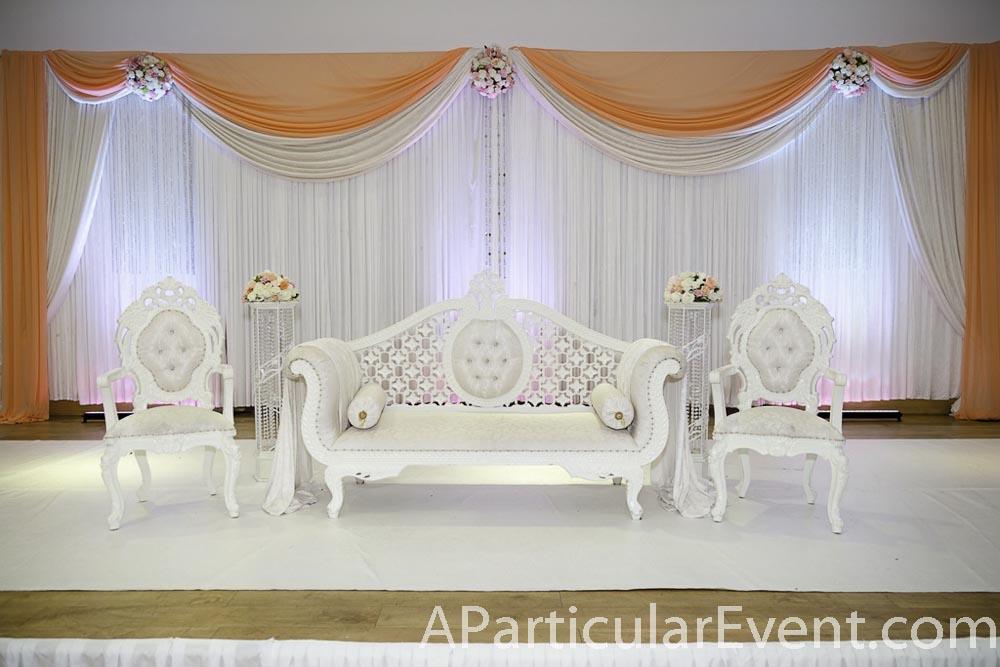 Wedding Decoration Backdrop Ceiling Draping Arch Column