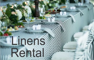 Linens Rental in Houston